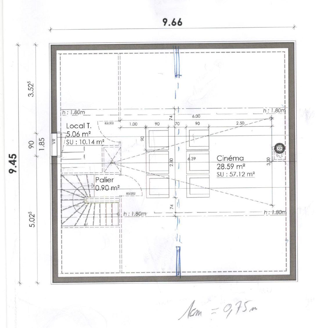 plan salle ciné