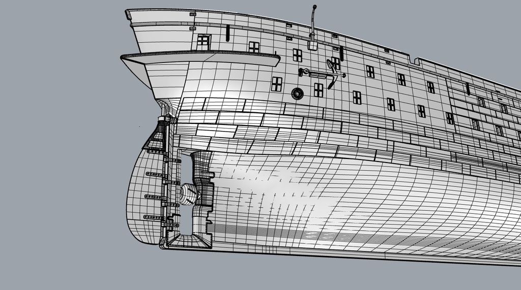 Pétrolier T2, USS Pamanset (AO-85) 1943, Impression 3D & Scratch au 1/200 - Page 3 JJJWJb-Poupe-S