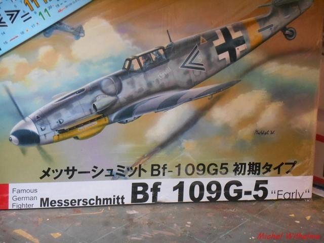 MESSERSCHMITT BF109.G.5 Herman GRAF. Az model 1/72  2007201136055625616927088