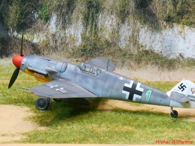 MESSERSCHMITT BF109.G.5 Herman GRAF. Az model 1/72  2007230738125625616932955