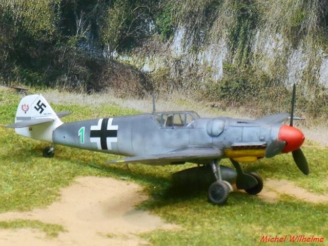 MESSERSCHMITT BF109.G.5 Herman GRAF. Az model 1/72  2007230738135625616932957