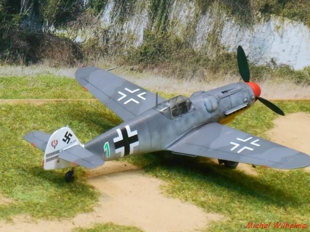 MESSERSCHMITT BF109.G.5 Herman GRAF. Az model 1/72  2007230738135625616932959