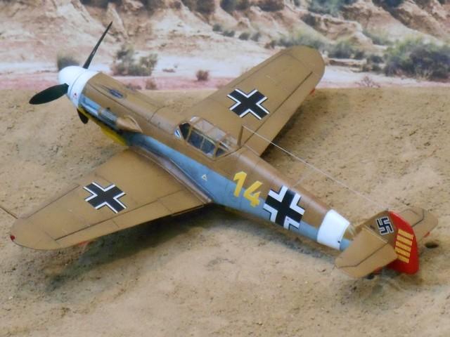 MESSERSCHMITT BF.109  F.4   LT Hans J MARSEILLE            AZ MODEL 1:72 2008040820145625616947750