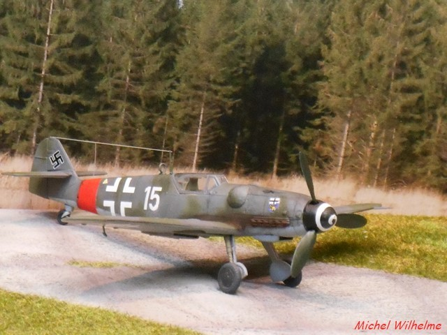 MESSERSCHMITT BF. 109 G.6 Bonn Hangelar 1944 .AZmodel 1/72 2008120932585625616959922