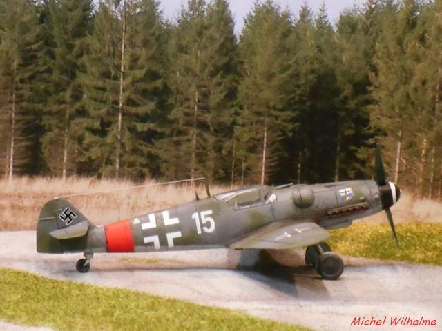 MESSERSCHMITT BF. 109 G.6 Bonn Hangelar 1944 .AZmodel 1/72 2008120932585625616959923