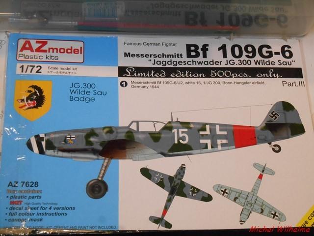 MESSERSCHMITT BF. 109 G.6 Bonn Hangelar 1944 .AZmodel 1/72 2008120932585625616959924