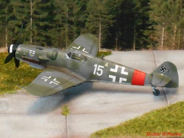 MESSERSCHMITT BF. 109 G.6 Bonn Hangelar 1944 .AZmodel 1/72 2008120932595625616959926