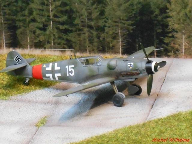 MESSERSCHMITT BF. 109 G.6 Bonn Hangelar 1944 .AZmodel 1/72 2008120933005625616959930
