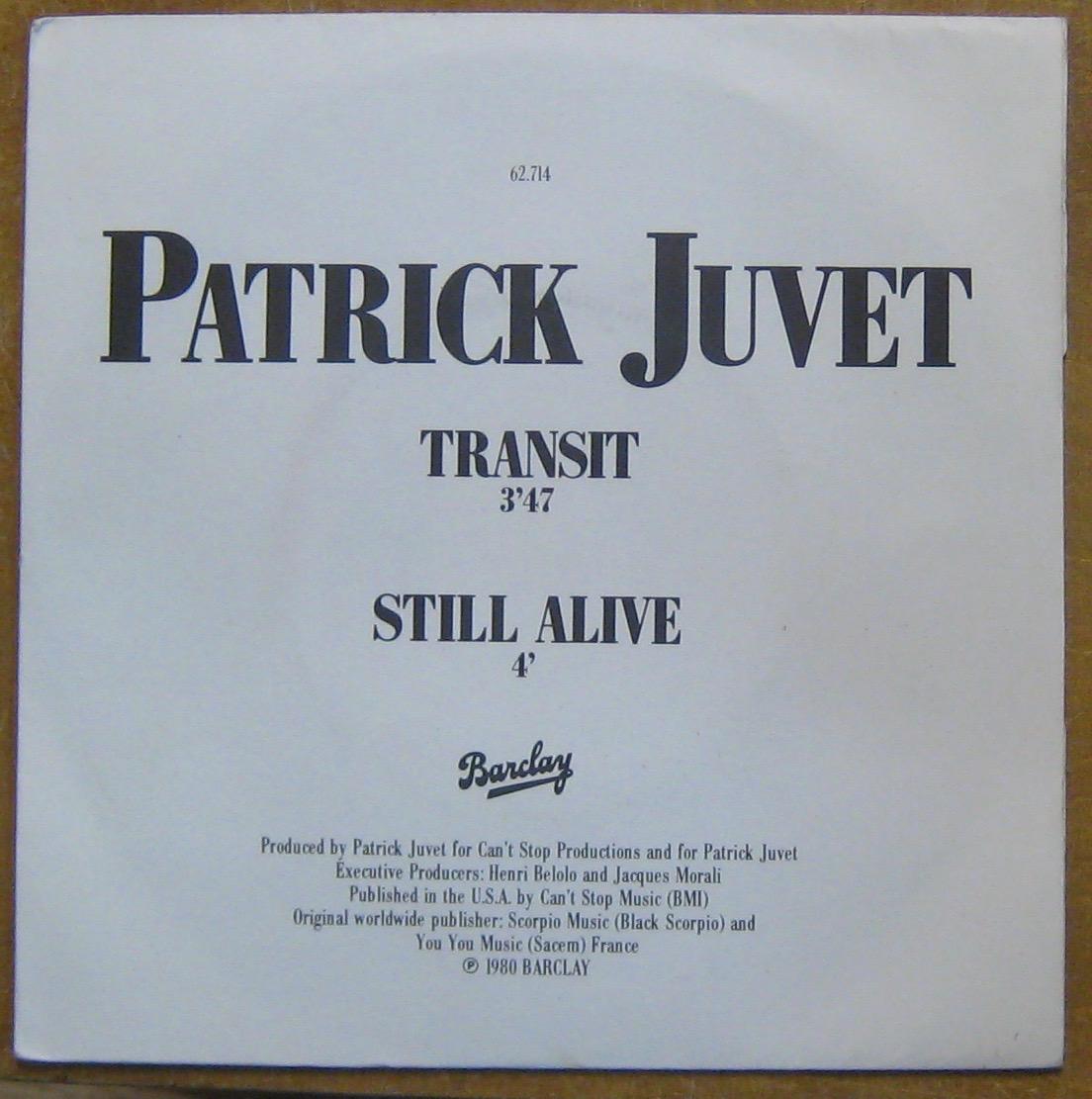 Juvet Patrick Transit