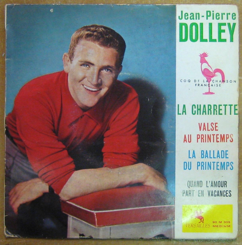 DOLLEY JEAN-PIERRE - La charrette - 45T (EP 4 titres)