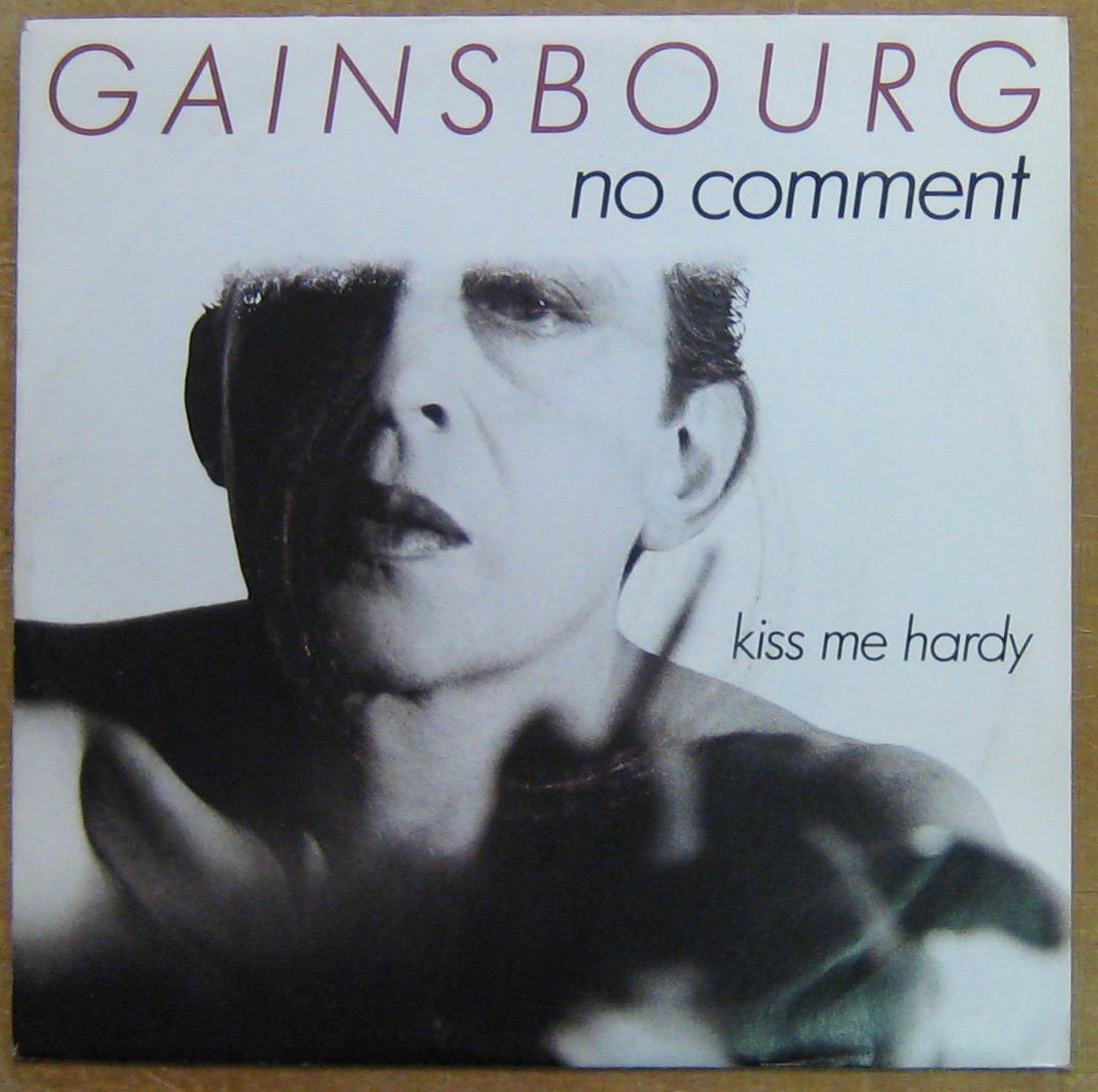 GAINSBOURG SERGE - No comment - 45T (SP 2 titres)