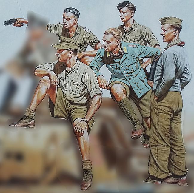 1943, Crète - Retour sur le terrain - 1/35 - Scrath + Masterbox  20081911105725248916971869