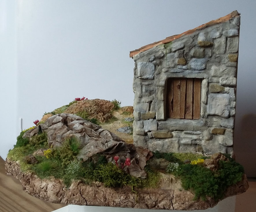 1943, Crète - Retour sur le terrain - 1/35 - Scrath + Masterbox  20082509190725248916981293