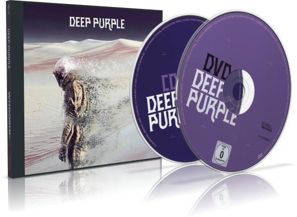 Deep  Purple Woosh ! + DVD concert Helfest 2017