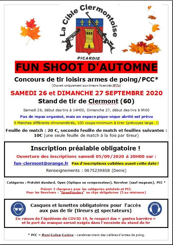 Affiche fun Clermont 2020