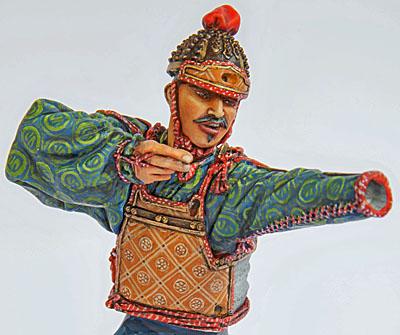 Samouraï archer Pegaso 90 mm : terminé 20090507151714703417008925