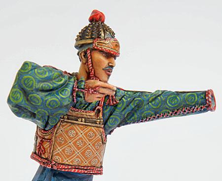 Samouraï archer Pegaso 90 mm : terminé 20090507151714703417008926