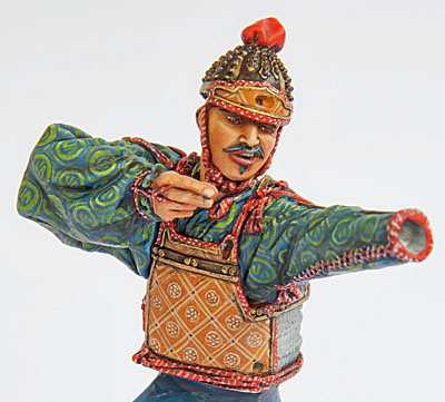 Samouraï archer Pegaso 90 mm : terminé 20090507151714703417008927