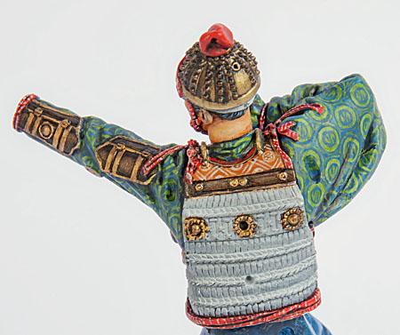 Samouraï archer Pegaso 90 mm : terminé 20090507151814703417008929