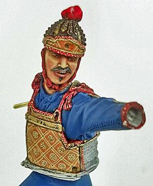 Samouraï archer Pegaso 90 mm : terminé 20090507151814703417008931