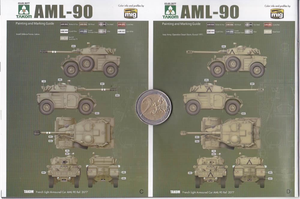 [Terminé] Panhard AML-90 ÷ TAKOM 2077 ÷ 1/35 - Page 2 2009060447195585017010120