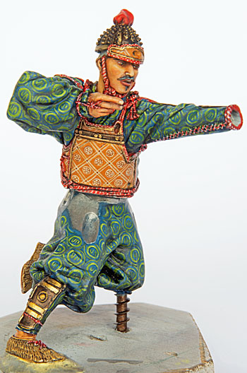 Samouraï archer Pegaso 90 mm : terminé - Page 2 20090912074814703417016099