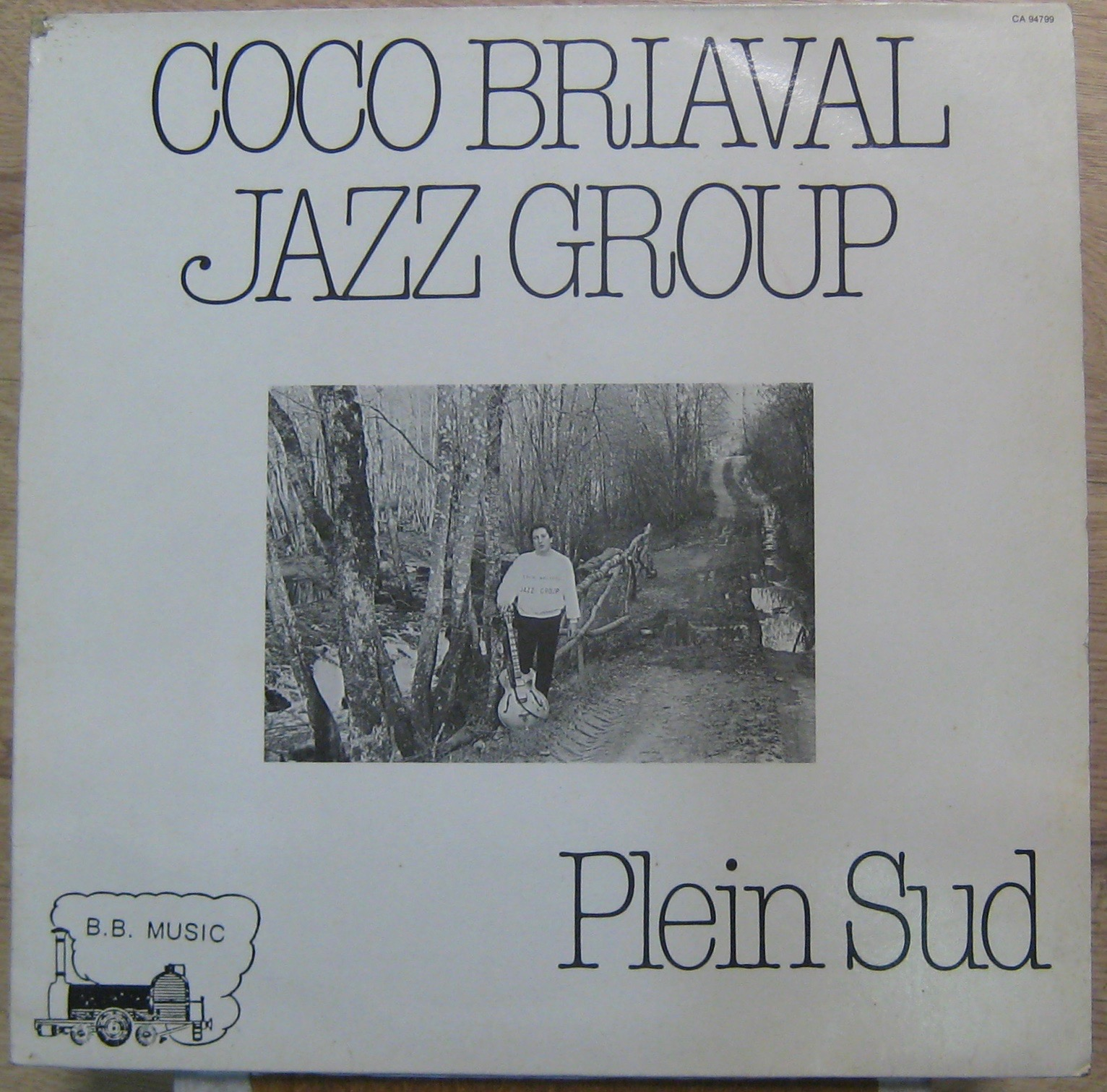 COCO BRIAVAL JAZZ GROUP - Plein Sud - 33T