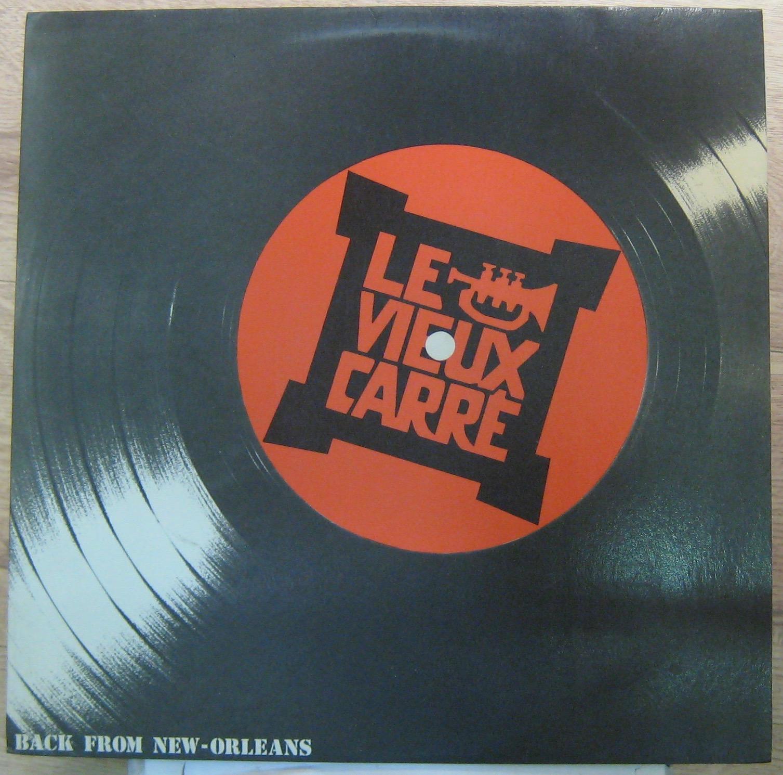 LE VIEUX CARRÉ - Back fromNew-Orleans - LP