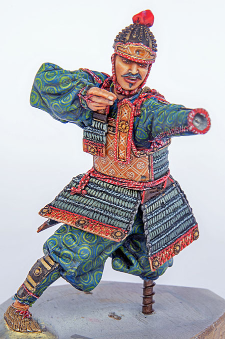 Samouraï archer Pegaso 90 mm : terminé - Page 2 20091504260714703417023369