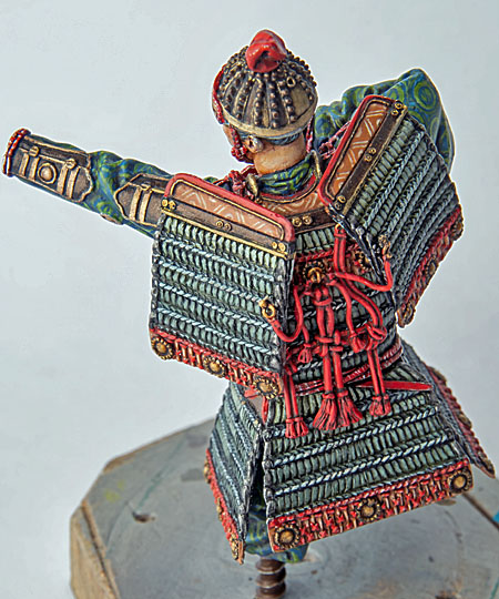 Samouraï archer Pegaso 90 mm : terminé - Page 2 20091504261214703417023373