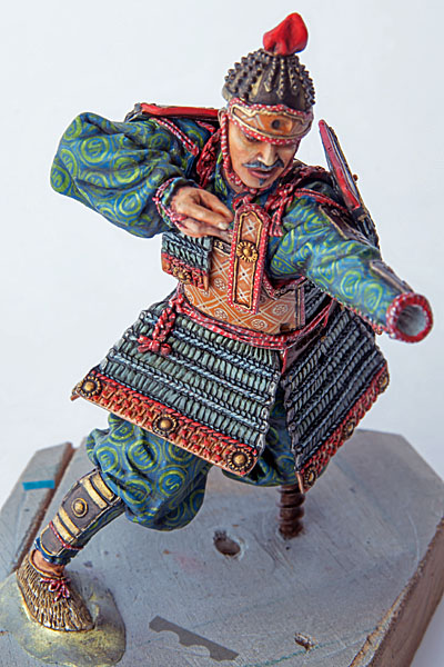 Samouraï archer Pegaso 90 mm : terminé - Page 2 20091504261414703417023375