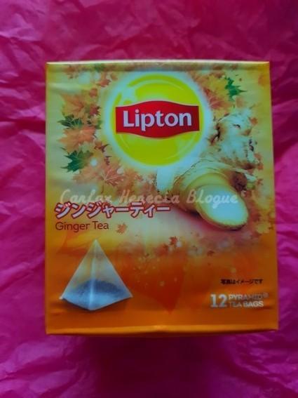 thé lipton gingembre