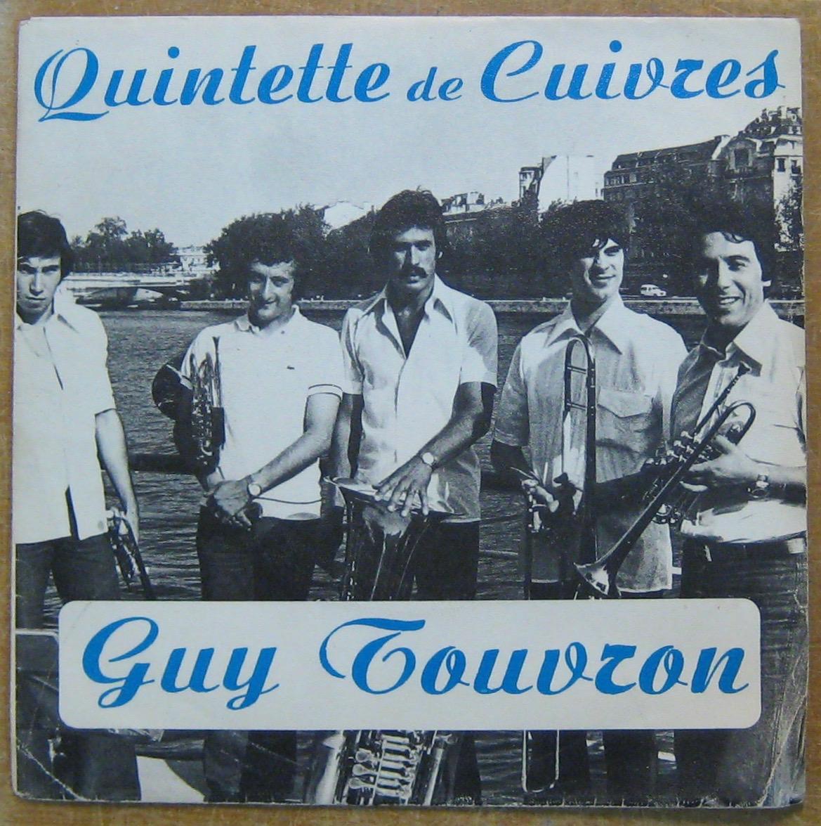 TOUVRON GUY - Quintette de cuivres - 7inch (EP)