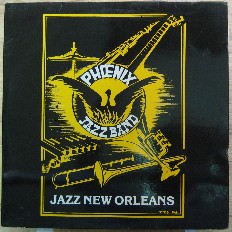 PHONEIX JAZZ BAND - Jazz New Orleans - LP