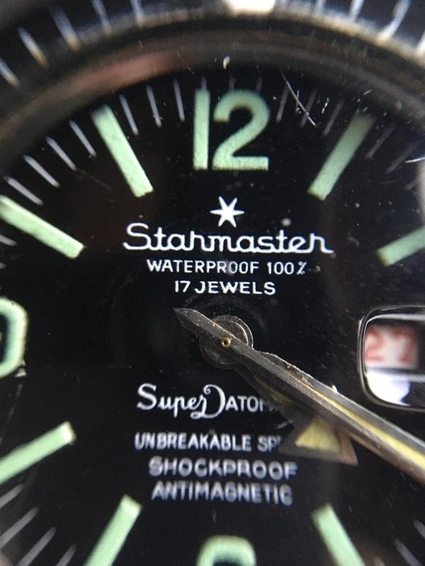 Montre Starmaster, façon plongeuse 20092602491124054417045034