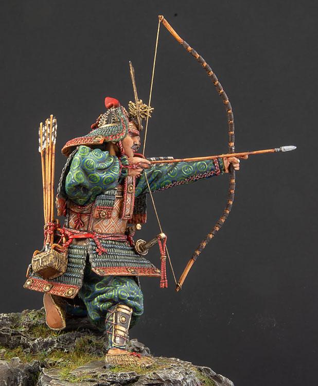 Samouraï archer Pegaso 90 mm : terminé - Page 2 20100102422214703417060546