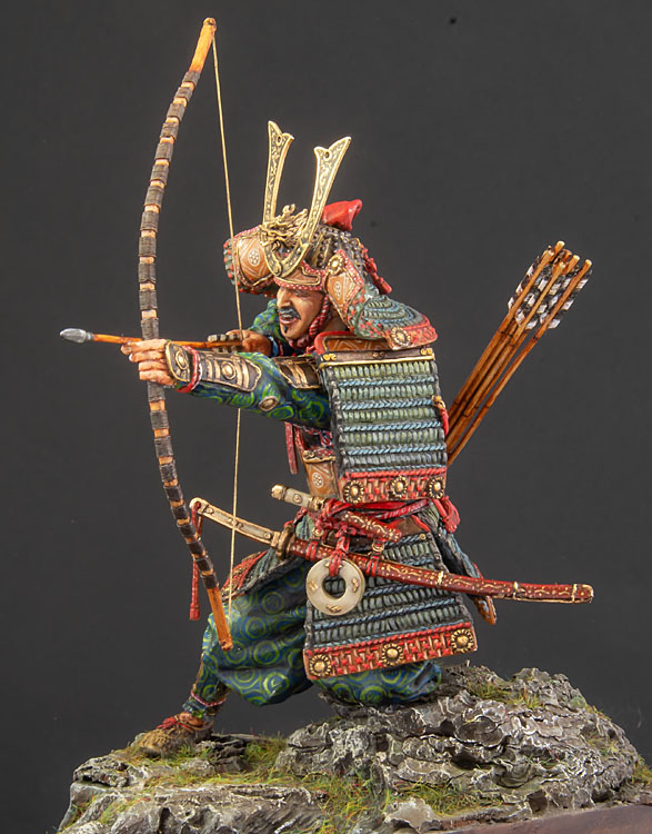 Samouraï archer Pegaso 90 mm : terminé - Page 2 20100102422414703417060554