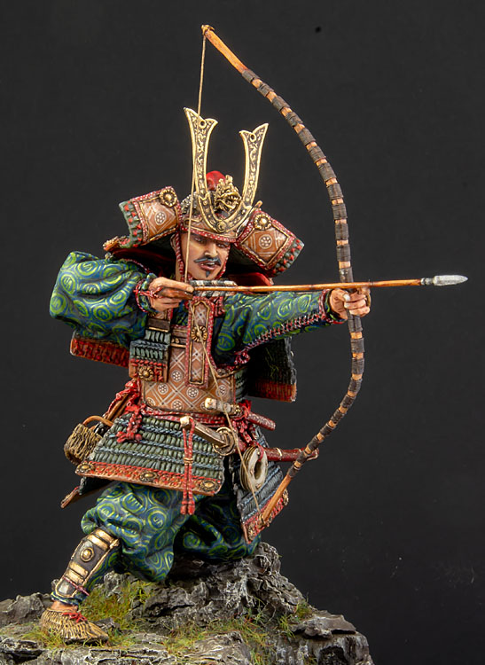 Samouraï archer Pegaso 90 mm : terminé - Page 2 20100102422514703417060558