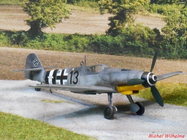 MESSERSCMITT  BF 109 G.14 .AS kit 1/72 AZmodel 2010030920195625617062694