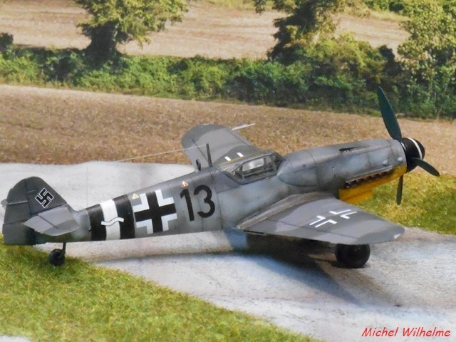 MESSERSCMITT  BF 109 G.14 .AS kit 1/72 AZmodel 2010030920205625617062695