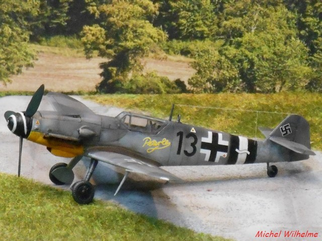 MESSERSCMITT  BF 109 G.14 .AS kit 1/72 AZmodel 2010030920205625617062698