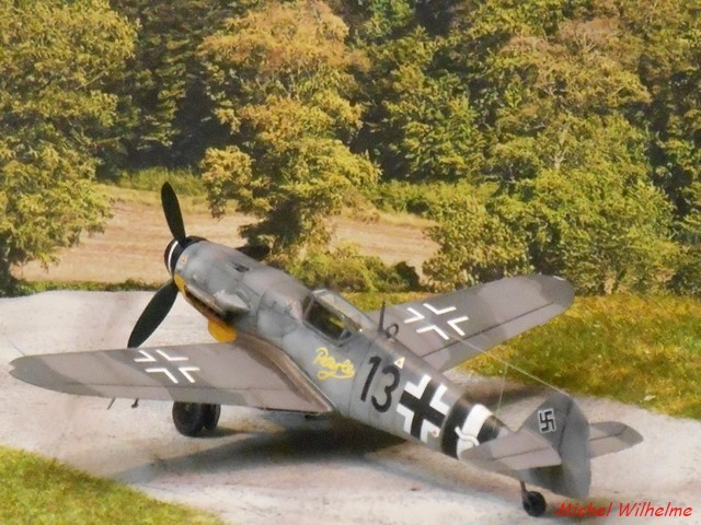 MESSERSCMITT  BF 109 G.14 .AS kit 1/72 AZmodel 2010030920215625617062699