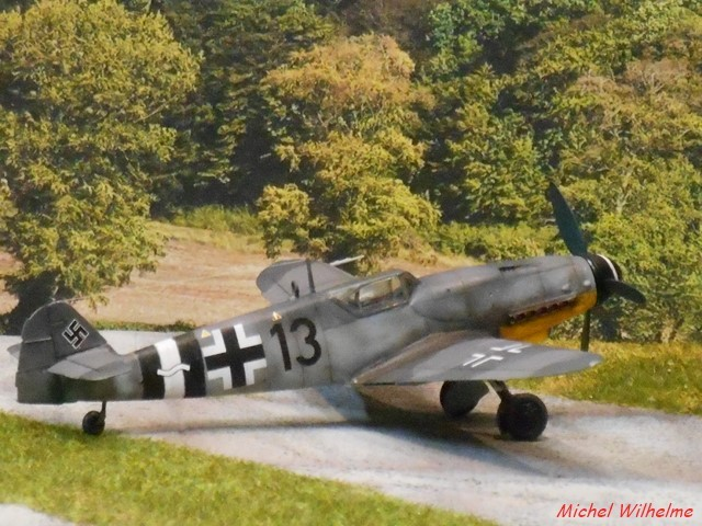 MESSERSCMITT  BF 109 G.14 .AS kit 1/72 AZmodel 2010030920225625617062703