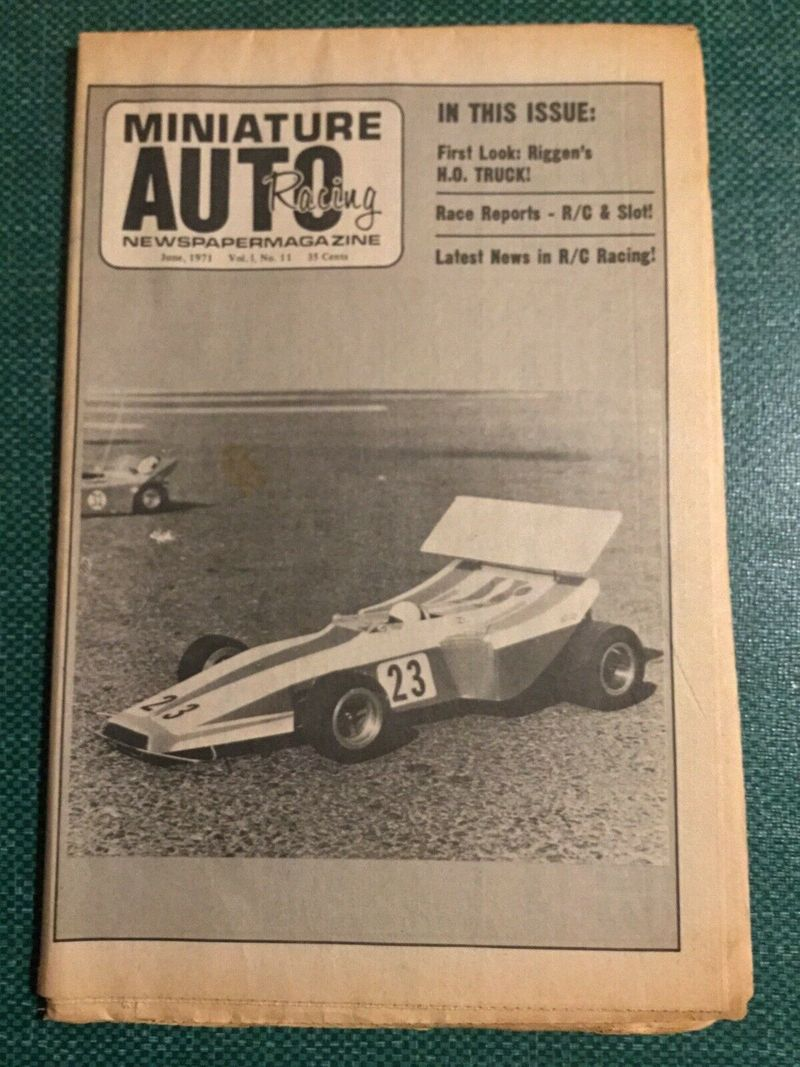 Miniature Auto Racing june 1971