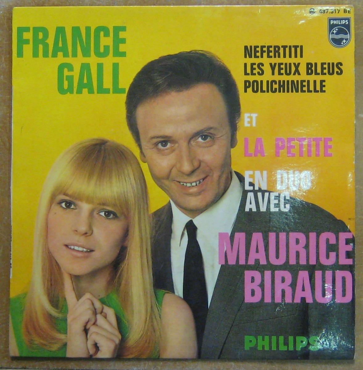 GALL FRANCE - Nefertiti - 45T (EP 4 titres)