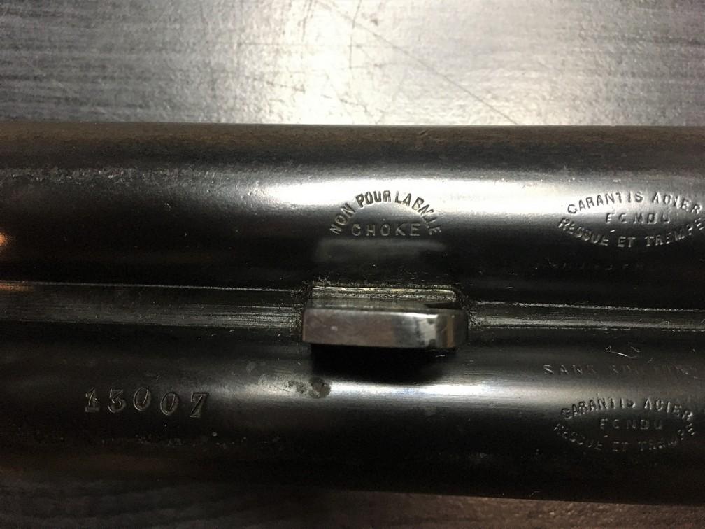 Fusil Darne Modèle 1891 à culasse ascendante Calibre 12/65 20100802514225662817072667