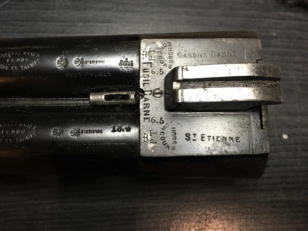 Fusil Darne Modèle 1891 à culasse ascendante Calibre 12/65 20100802514325662817072669