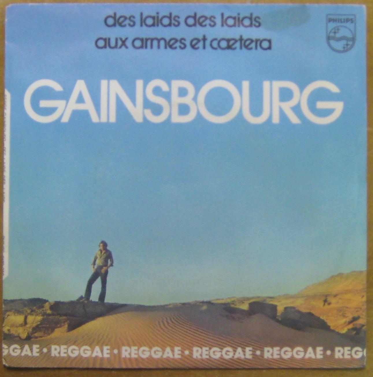 GAINSBOURG SERGE - Des laids des laids - 45T (SP 2 titres)