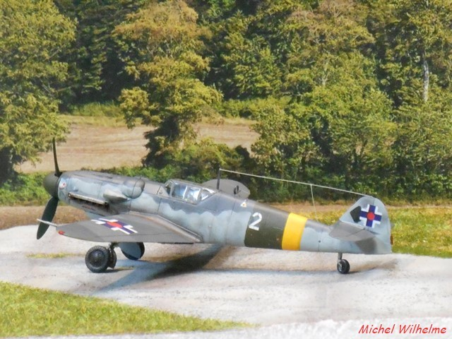 "MESSERSCHMITT 109  G.6 ""SLOVAK""                           AZ MODEL 1:72 2010120921065625617078589"