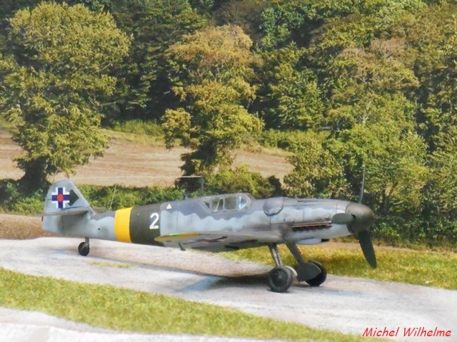 "MESSERSCHMITT 109  G.6 ""SLOVAK""                           AZ MODEL 1:72 2010120921065625617078590"